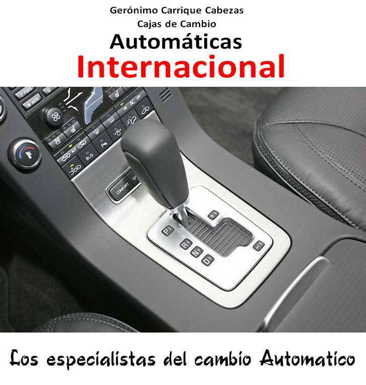 Foto CAJAS DE CAMBIO AUTOMÁTICAS INTERNACIONAL